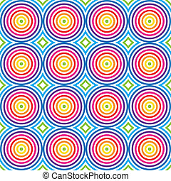 Seamless colorful pattern. Vector.