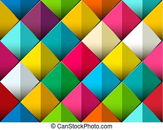 Seamless Colorful Vector Pattern