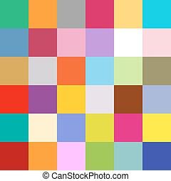 seamless, colorito, squadre