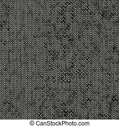 Seamless computer generated metal chain mail damaged