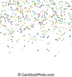 seamless confetti party background - seamless background ...