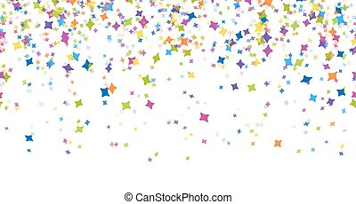 seamless confetti party background - seamless background...