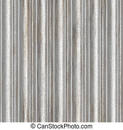 seamless corrugated metal