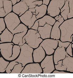 Seamless cracked background pattern