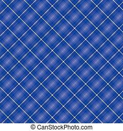 Seamless cross blue shading diagonal pattern