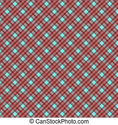 Seamless cross dark red-blue diagonal pattern