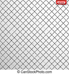 Seamless cross hatch pattern with grunge scratches and dirt