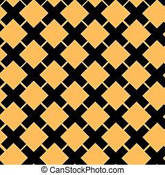 Seamless Cross Pattern, vector illustration