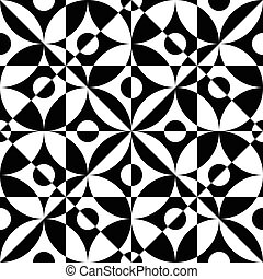 Seamless Crystal Pattern