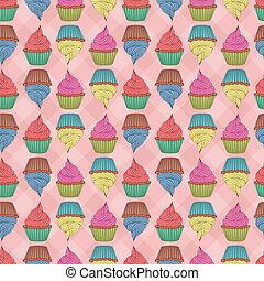 Seamless cupcakes.