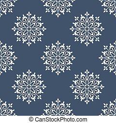 Seamless cute designer floral pattern