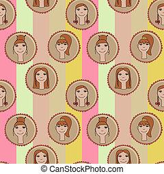seamless cute pattern
