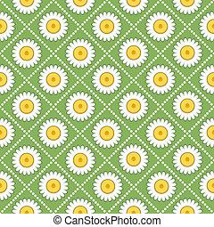 seamless daisy background