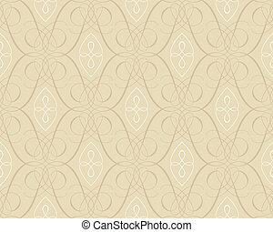 seamless, damasco, papel pintado, backgroun