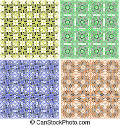 Seamless damask pattern. abstract background