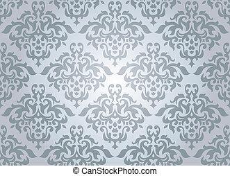 seamless damask wallpaper - abstract seamless damask...