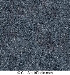 Seamless dark grey granite texture. Close-up photo
