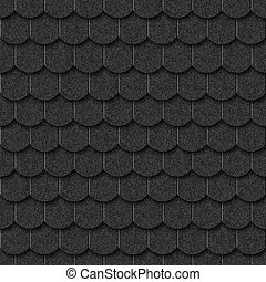 Seamless dark tile texture background for continuous...