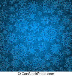 Seamless deep blue christmas pattern. EPS 8
