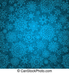 Seamless deep blue christmas texture. EPS 8 - Seamless deep...