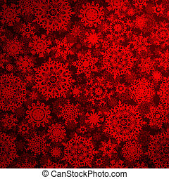 Seamless deep red christmas pattern. EPS 8