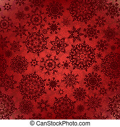 Seamless deep red christmas texture pattern. EPS 8 vector...