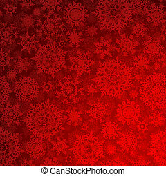 Seamless deep red christmas texture pattern. EPS 8 vector file included