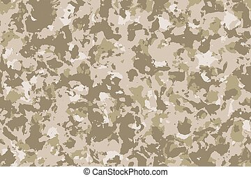 Seamless desert camouflage background or texture.