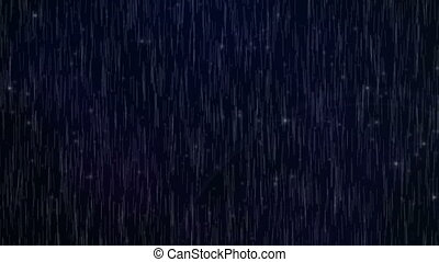 seamless, deszcz upadek