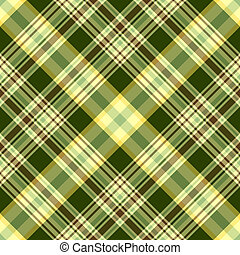 Seamless diagonal pattern - Seamless green and yellow...