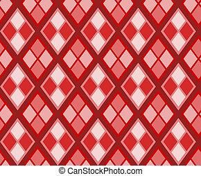 Seamless diamond background