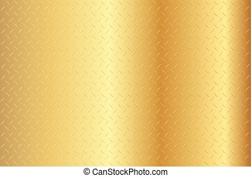 Seamless Diamond Gold Texture Background