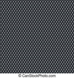 Seamless Diamond Metal Texture