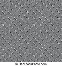 Seamless Diamond Plate Pattern