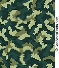 Seamless digital camouflage
