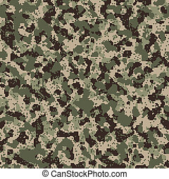 Seamless digital universal camo