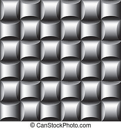 Seamless dimensional background - Editable vector design