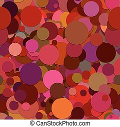 Seamless dot background pattern - vector graphic from circles with shadow effect