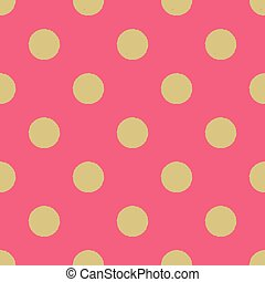 seamless dots circle pattern
