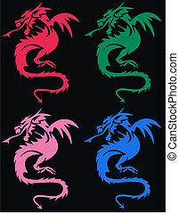 dragoon pattern - seamless dragoon pattern