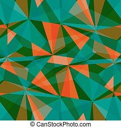 seamless, driehoek, pattern., vector, achtergrond., geometrisch, abstract, textuur
