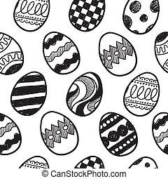 Seamless Easter Egg background