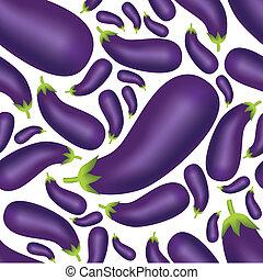 seamless eggplant pattern