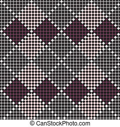 Seamless embroidered pattern