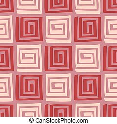 Seamless ethic pattern - Vector abstract seamless...