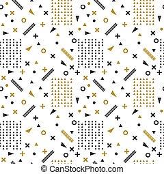 seamless, etnisk, pattern., stam, hand, oavgjord, bakgrund., skandinav, pattern., aztekisk, abstrakt, geometrisk, konst, tryck