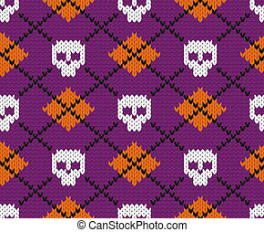 Seamless fabric pattern. - Seamless fabric pattern for...
