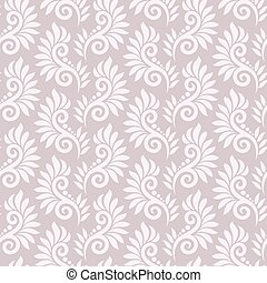 Seamless fancy floral pattern
