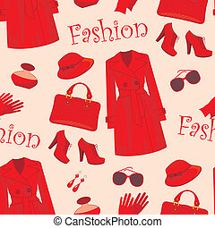 Seamless fashion pattern