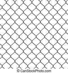 seamless., fence., צ'אינלינק